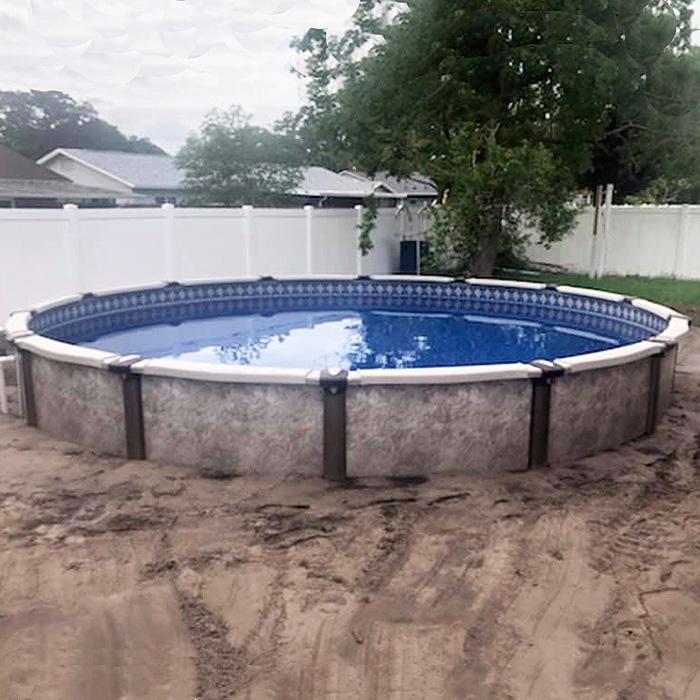 Regency semi inground pool Lakeland FL